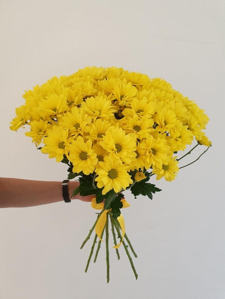 Кустовая хризантема Yellow