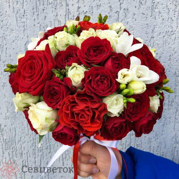 Свадебный букет #3
